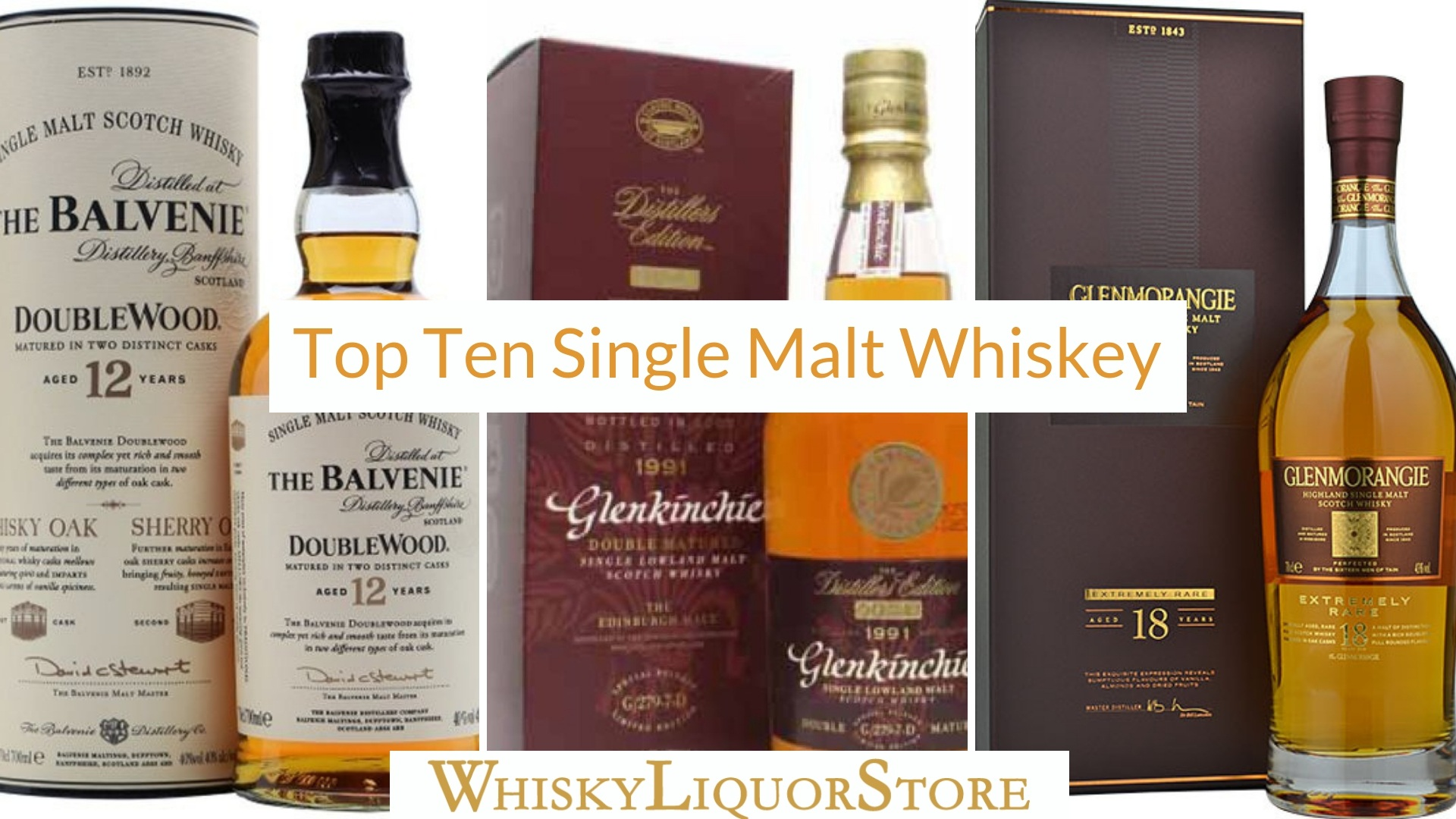 Top Ten Single Malt Whiskey